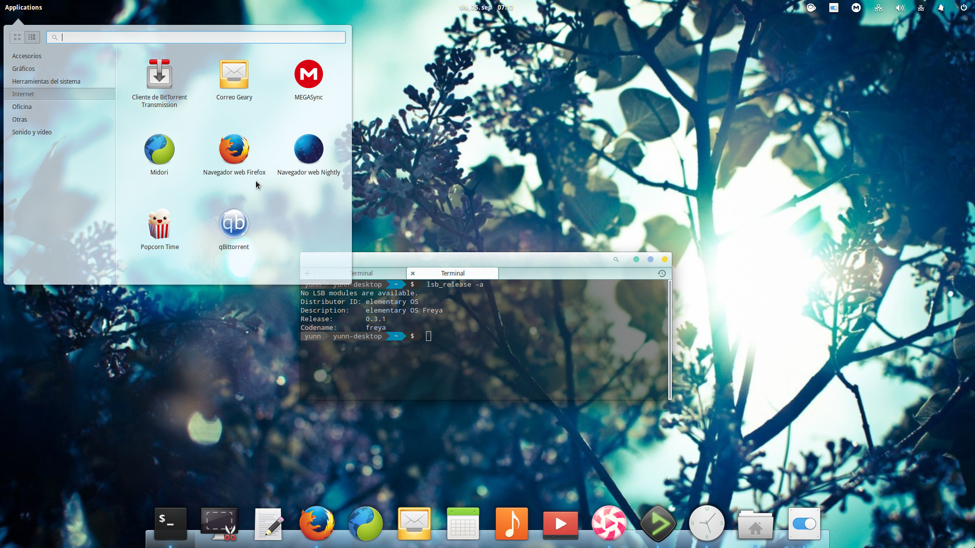 elementary theme: eLoki-LightBlue and eLoki-White para elementary OS Freya