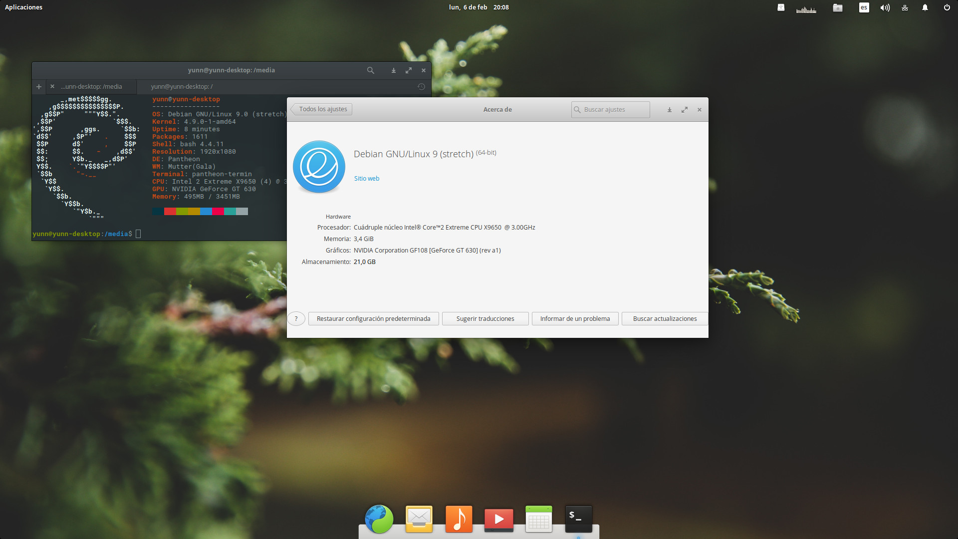 Como instalar Pantheon en Debian 9 Stretch