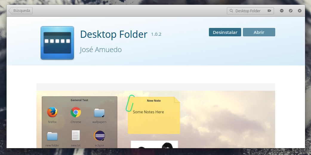 Instalacion Desktop Folder